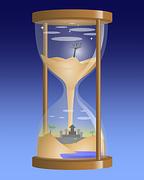 sand clock reloj de arena